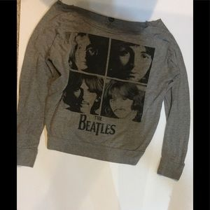 The Beatles, black and gray